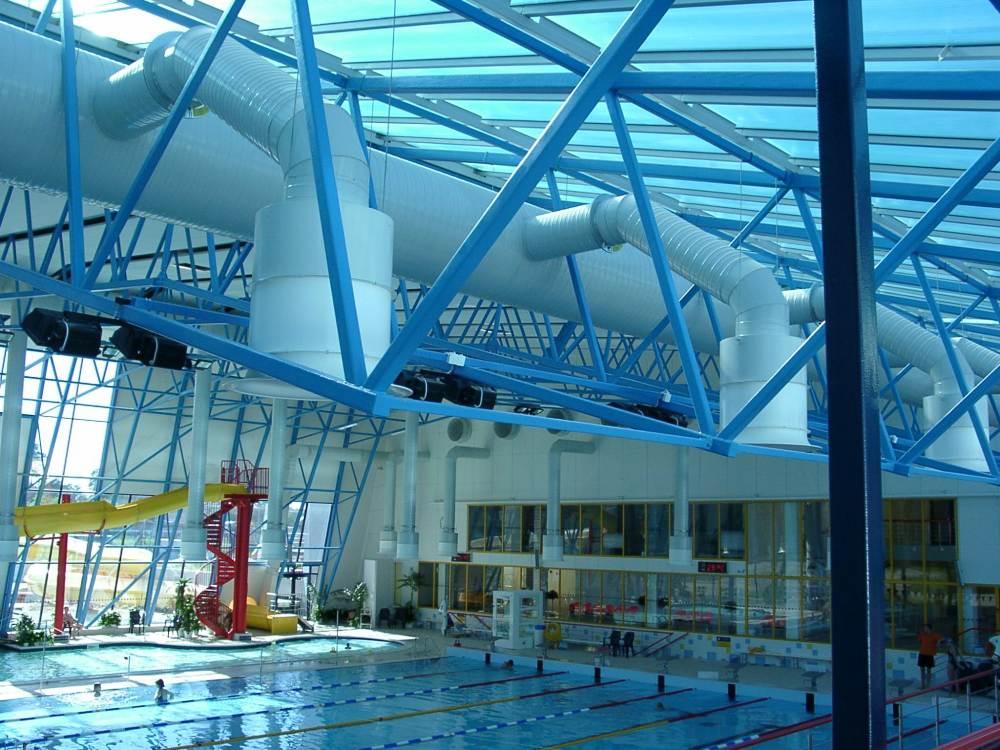 Вентиляция спортивных сооружений