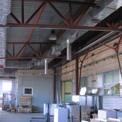 Вентиляция заводов