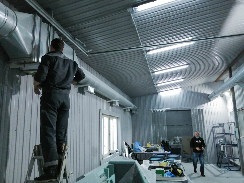 Монтаж вентиляции в Московской области