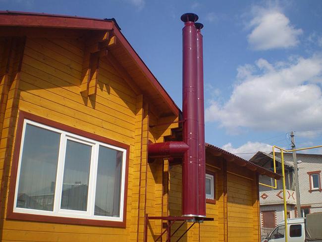 Монтаж вентиляции в загородном доме